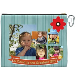 Kids By Kids   Canvas Cosmetic Bag (xxxl)   0z2lg9490a62   Www Artscow Com Back