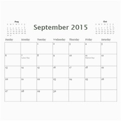 Lidas Calendar By Kaye   Wall Calendar 11  X 8 5  (12 Months)   5o8szxbjfgk0   Www Artscow Com Sep 2015