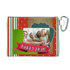 Xmas By Joy   Canvas Cosmetic Bag (xl)   T234syeh0wj8   Www Artscow Com Back