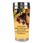 mardi gras 2 - Stainless Steel Travel Tumbler