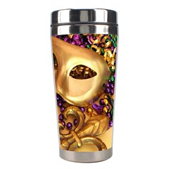 Mardi Gras 2 By Gregg Deneweth   Stainless Steel Travel Tumbler   Ueeby8bju957   Www Artscow Com Right