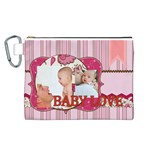 baby - Canvas Cosmetic Bag (Large)