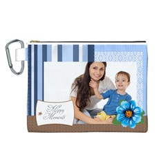 Baby By Baby   Canvas Cosmetic Bag (large)   64xv5zjhxtzn   Www Artscow Com Front