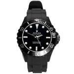 reloj verde - Round Plastic Sport Watch (L)