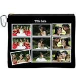 Stamp Proof Set Canvas Cosmetic Bag (XXXL)