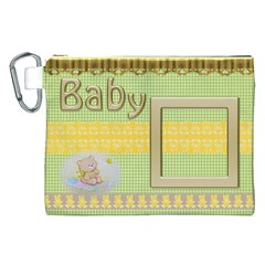 Baby Canvas Cosmetic Bag (xxl) By Deborah   Canvas Cosmetic Bag (xxl)   Hl5uvsef2u97   Www Artscow Com Front