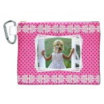 Little Lady Canvas Cosmetic Bag (XXL)