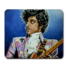 His Royal Purpleness Large Mouse Pad (rectangle) by retz