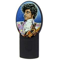 His Royal Purpleness 4gb Usb Flash Drive (oval) by retz