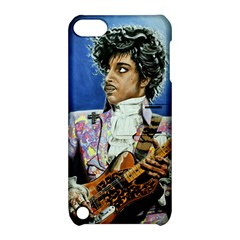 His Royal Purpleness Apple Ipod Touch 5 Hardshell Case With Stand by retz