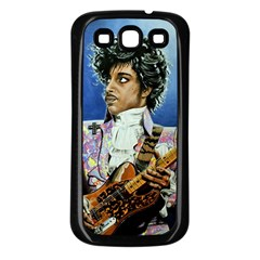His Royal Purpleness Samsung Galaxy S3 Back Case (black) by retz