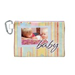 baby - Canvas Cosmetic Bag (Medium)