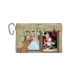 Baby By Baby   Canvas Cosmetic Bag (small)   Ifz5kn1tmr45   Www Artscow Com Front