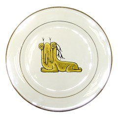 Fantasy Cute Monster Character 2 Porcelain Display Plate by dflcprints