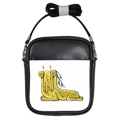 Fantasy Cute Monster Character 2 Girl s Sling Bag by dflcprints