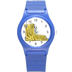 Fantasy Cute Monster Character 2 Plastic Sport Watch (small) by dflcprints