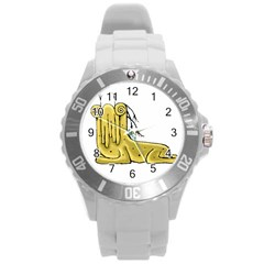 Fantasy Cute Monster Character 2 Plastic Sport Watch (large) by dflcprints