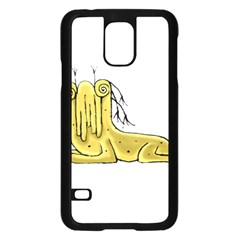 Fantasy Cute Monster Character 2 Samsung Galaxy S5 Case (black) by dflcprints
