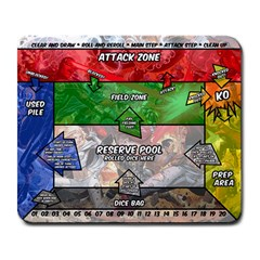 dicemasters mats Large Mouse Pad (Rectangle) by josephkirkman