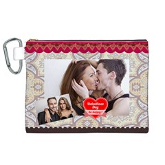Love By Love   Canvas Cosmetic Bag (xl)   Ub9qlph8nhfj   Www Artscow Com Front