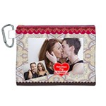 love - Canvas Cosmetic Bag (XL)