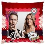 love - Standard Flano Cushion Case (One Side)