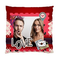 Love By Love   Standard Cushion Case (two Sides)   B1ogykb9eq93   Www Artscow Com Front