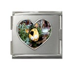 parsley-6 Mega Link Heart Italian Charm (18mm)