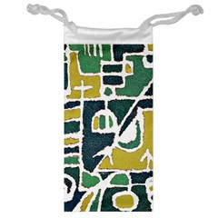 Colorful Tribal Abstract Pattern Jewelry Bag by dflcprints