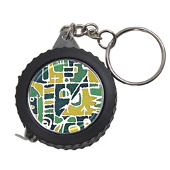 Colorful Tribal Abstract Pattern Measuring Tape by dflcprints