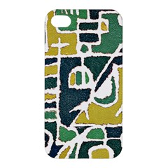 Colorful Tribal Abstract Pattern Apple Iphone 4/4s Premium Hardshell Case by dflcprints