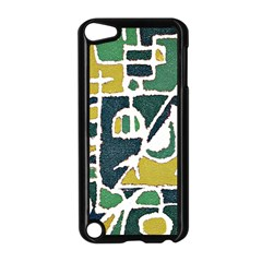 Colorful Tribal Abstract Pattern Apple Ipod Touch 5 Case (black) by dflcprints