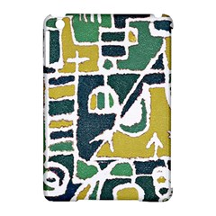 Colorful Tribal Abstract Pattern Apple iPad Mini Hardshell Case (Compatible with Smart Cover) by dflcprints