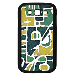 Colorful Tribal Abstract Pattern Samsung Galaxy Grand Duos I9082 Case (black)
