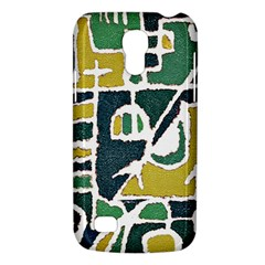 Colorful Tribal Abstract Pattern Samsung Galaxy S4 Mini (gt I9190) Hardshell Case  by dflcprints