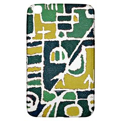Colorful Tribal Abstract Pattern Samsung Galaxy Tab 3 (8 ) T3100 Hardshell Case  by dflcprints