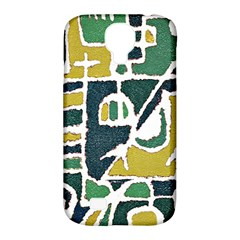 Colorful Tribal Abstract Pattern Samsung Galaxy S4 Classic Hardshell Case (pc+silicone) by dflcprints
