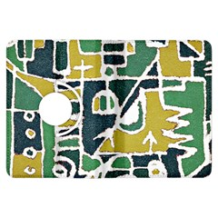 Colorful Tribal Abstract Pattern Kindle Fire Hdx Flip 360 Case by dflcprints