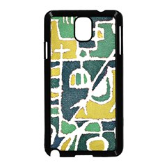 Colorful Tribal Abstract Pattern Samsung Galaxy Note 3 Neo Hardshell Case (black) by dflcprints