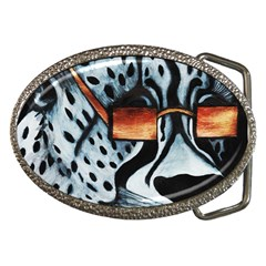 Cool Cat Belt Buckle (oval) by JUNEIPER07
