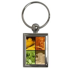 Kitchen Key Chain (Rectangle) from ArtsNow.com Front