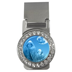 Full Moon Rising Money Clip (cz) by icarusismartdesigns