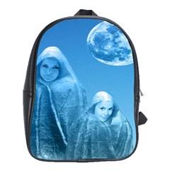 Full Moon Rising School Bag (large) by icarusismartdesigns