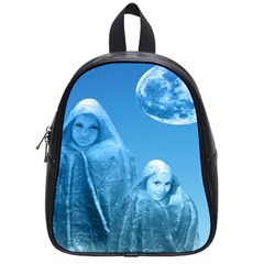 Full Moon Rising School Bag (small) by icarusismartdesigns