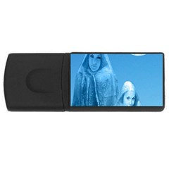 Full Moon Rising 4gb Usb Flash Drive (rectangle) by icarusismartdesigns