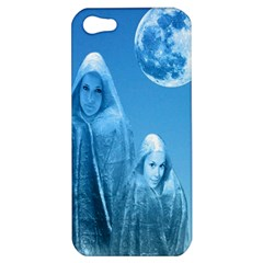 Full Moon Rising Apple Iphone 5 Hardshell Case by icarusismartdesigns