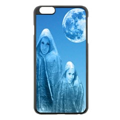 Full Moon Rising Apple Iphone 6 Plus Black Enamel Case by icarusismartdesigns