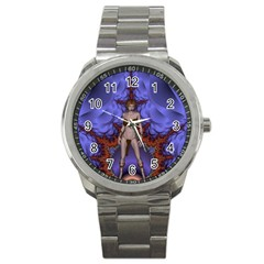 Chaos Sport Metal Watch by icarusismartdesigns