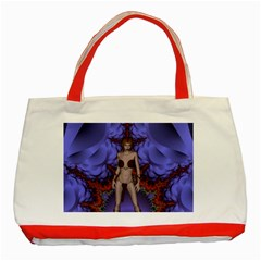 Chaos Classic Tote Bag (red) by icarusismartdesigns