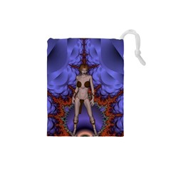 Chaos Drawstring Pouch (small) by icarusismartdesigns